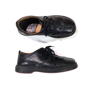 Born Black Leather Oxford Shoes Mens Size 10